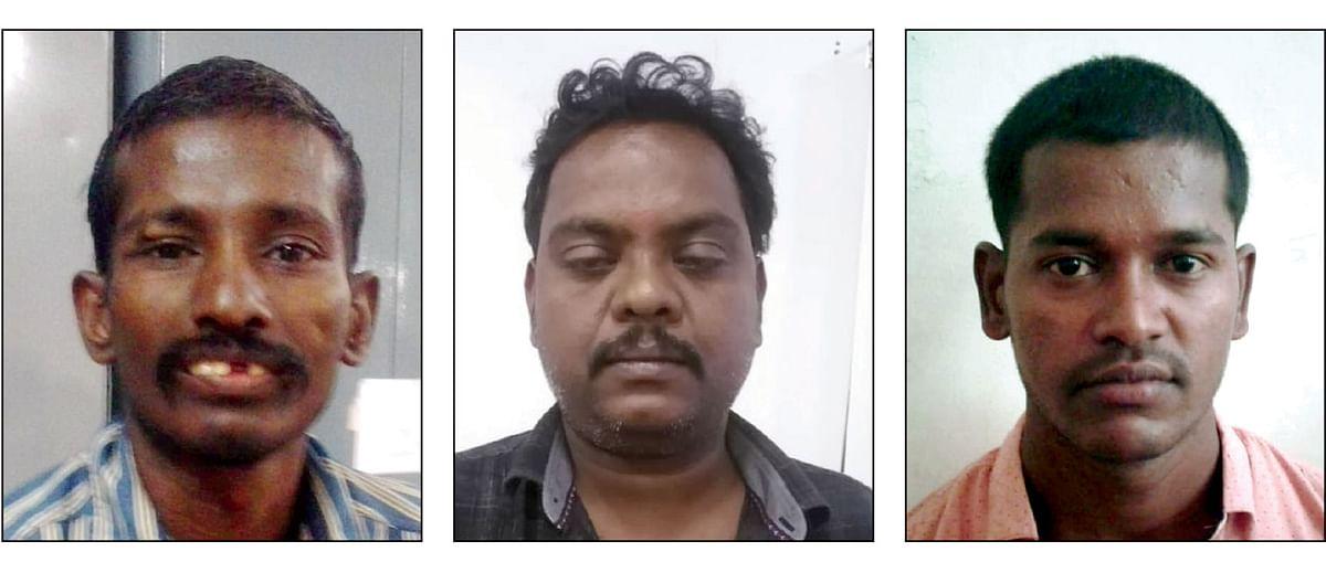 முருகன், மணிகண்டன், சுரேஷ்