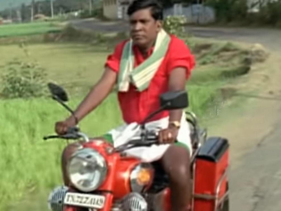 `அர்ஜுன் ரெட்டி', `கபீர் சிங்', `ஆதித்யா வர்மா' - இது வடிவேலு வெர்ஷன்! #VikatanPhotocards