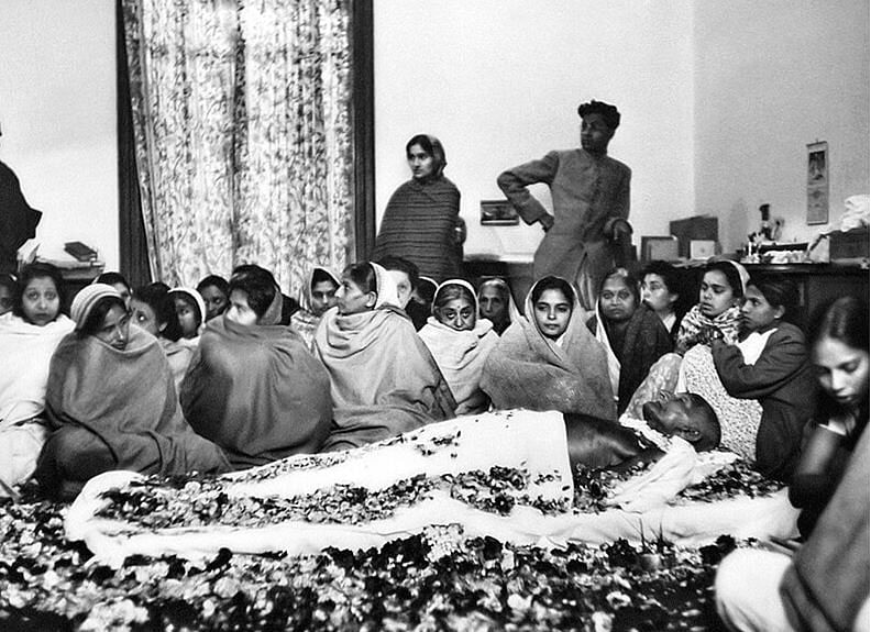 Gandhi death
