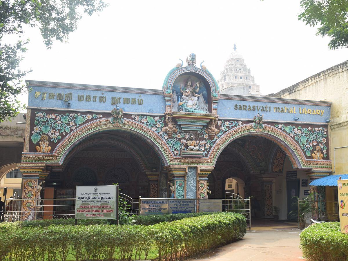 49,000 ஓலைச்சுவடிகள்; 70,000 அரிய வகை நூல்கள்!- என்னவாகும் 100 ஆண்டுகளைக் கடந்த சரசுவதி மஹால்?