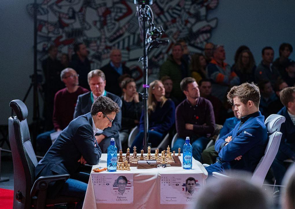 Fabiano Caruana - Magnus Carlsen