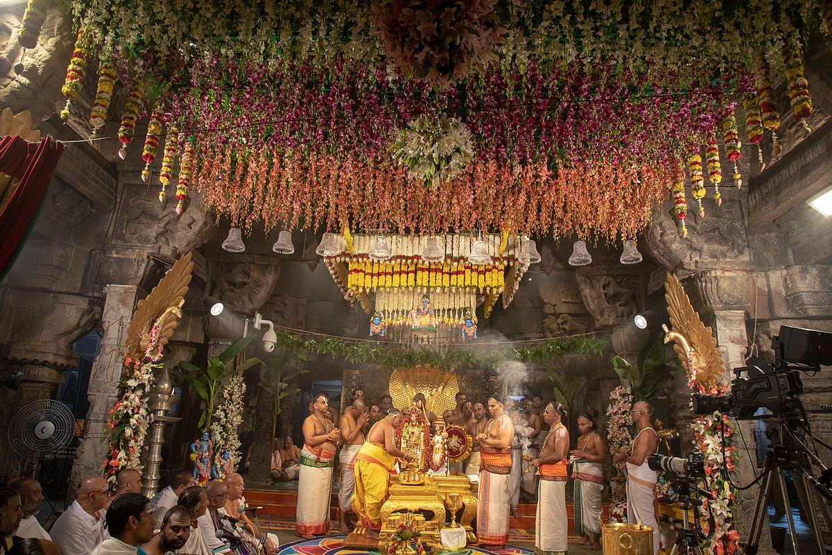 திருப்பதி பிரம்மோற்சவ விழா!
