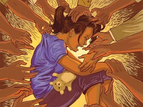 ஹாசினி போல 2017-ல் எத்தனை குழந்தைகள்  பாதிக்கப்பட்டார்கள் தெரியுமா? #NCRBReport