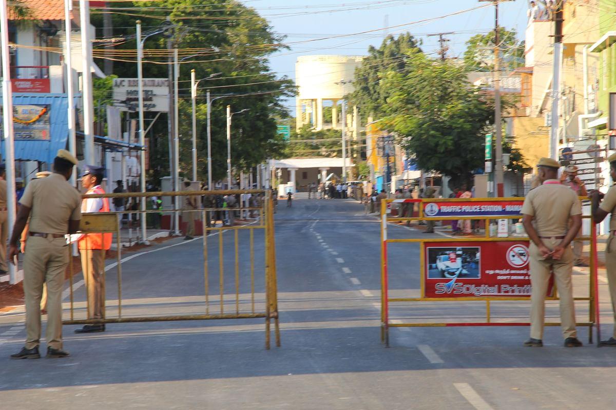 மாமல்லபுரம் பாதுகாப்பு