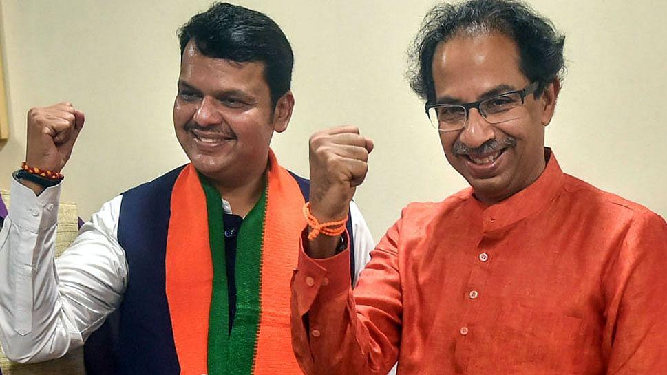 தேர்தல் பாரதிய ஜனதா கட்சி சிவசேனா கட்சி