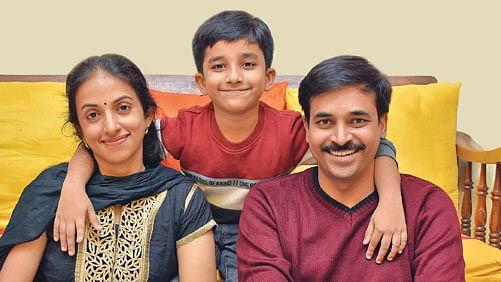 குடும்பத்துடன் இயக்குநர் ரமேஷ்