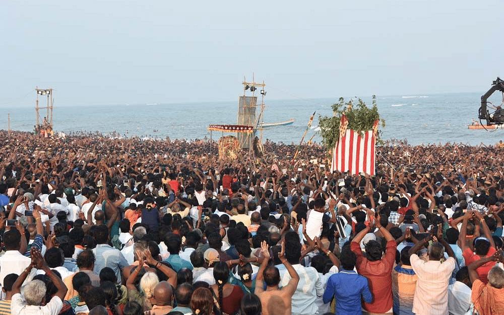 `திருச்செந்தூரின் கடலோரத்தில்...'- நவம்பர் 2-ம் தேதி சூரசம்ஹாரம்!