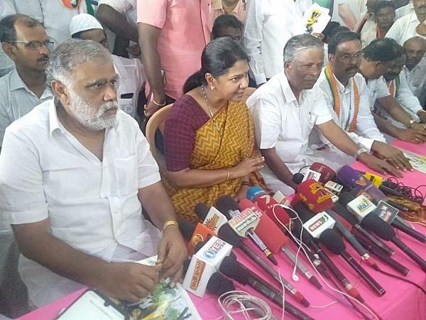Kanimozhi MP press meet