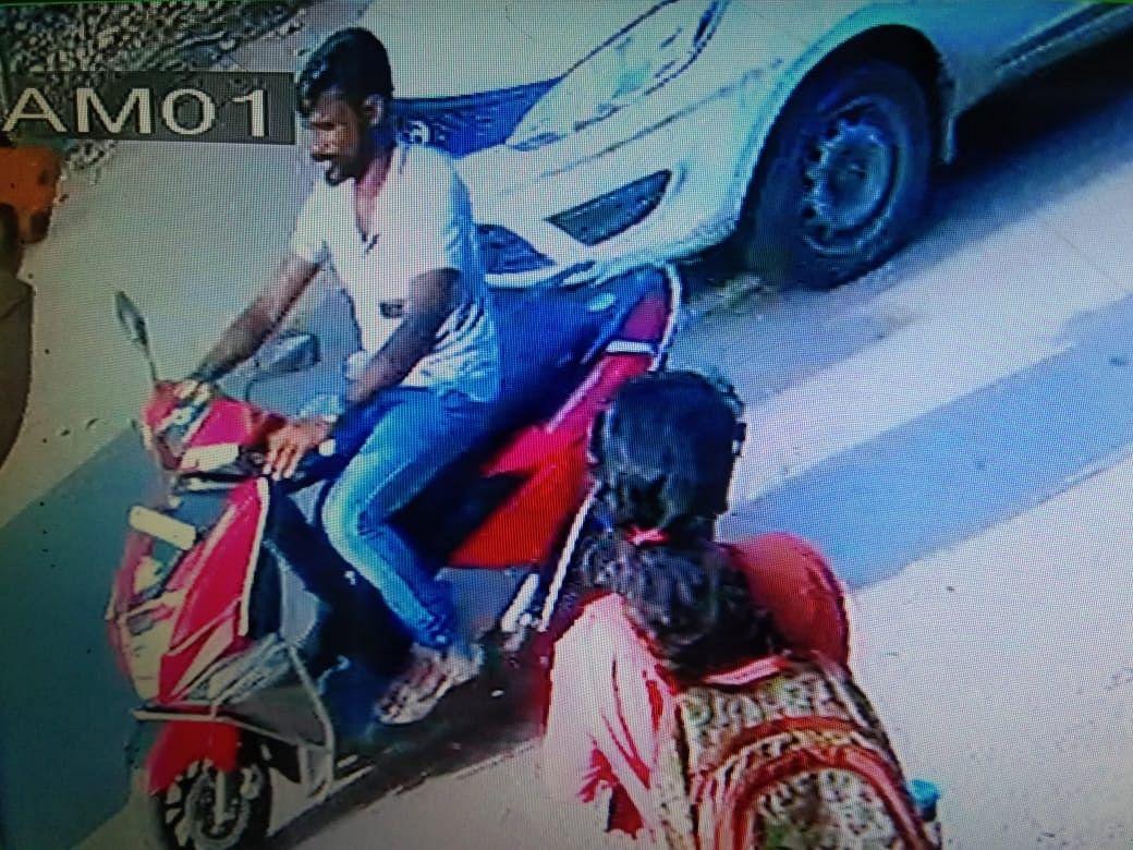 hari prasad cctv footage