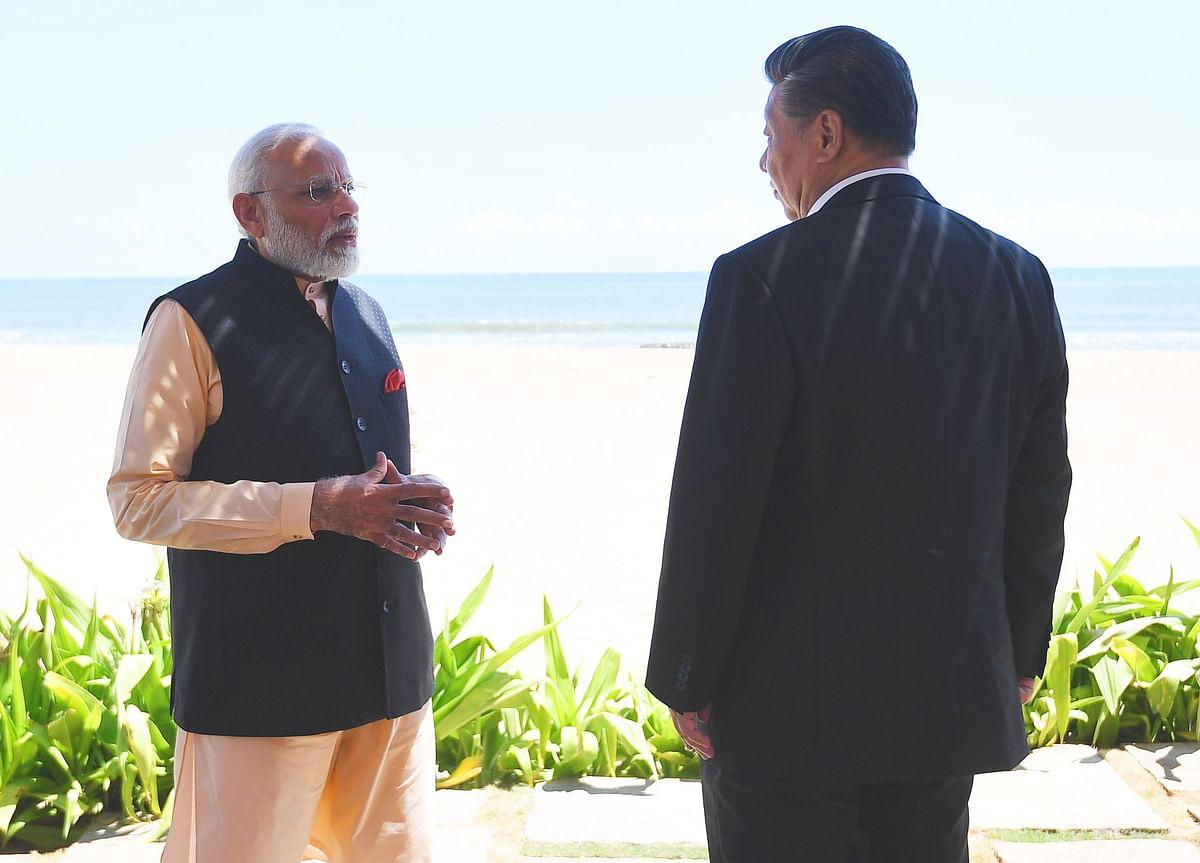 Modi- xi jinping