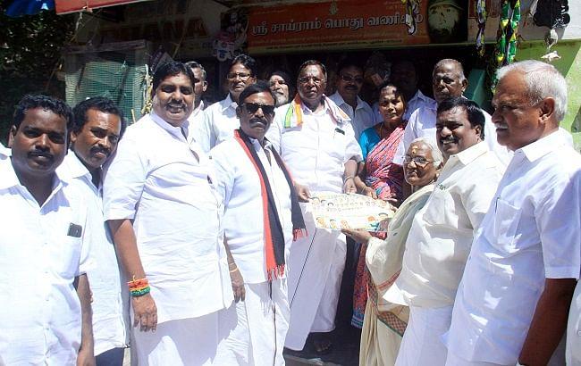 காங்கிரஸ் தேர்தல் பிரசாரம்