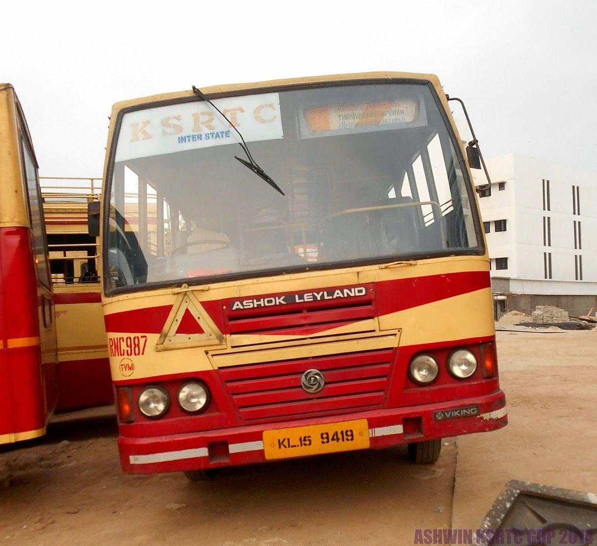 kerala bus