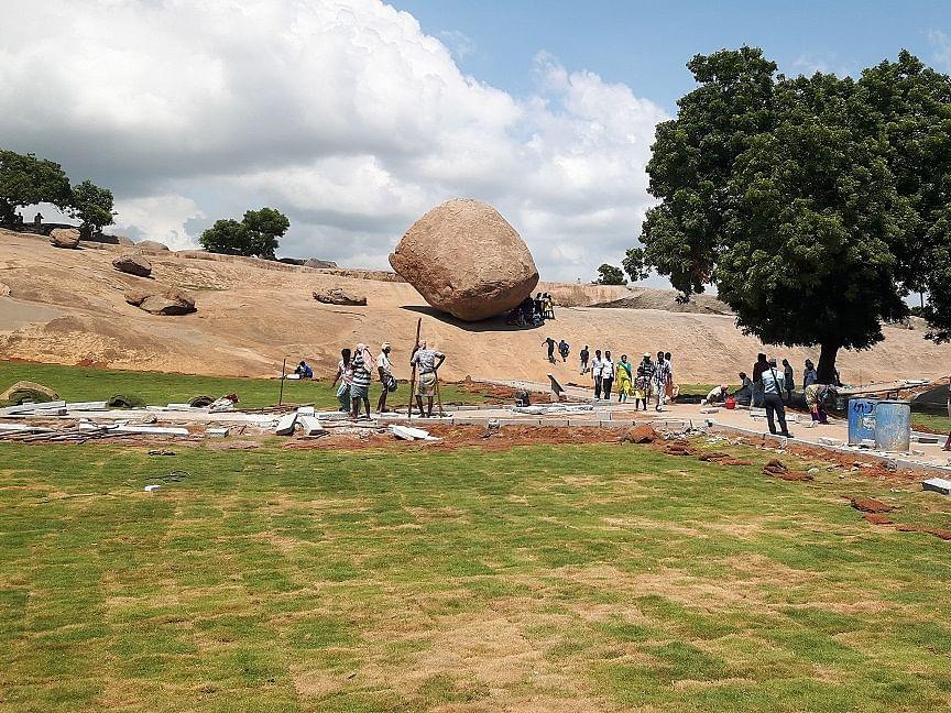 மோடி - ஜின்பிங் சந்திப்பு... புதுப் பொலிவு பெறும் மாமல்லபுரம்!