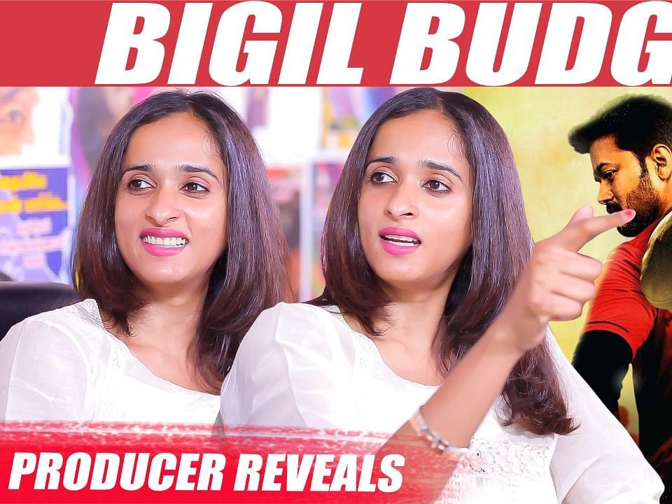 BIGIL: Vijay's PULLINGO Speech & FINAL Budget - Archana Kalpathi Reactions