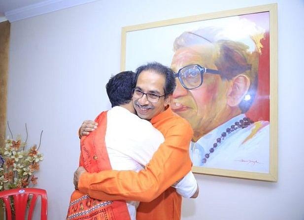 உத்தவ் - ஆதித்ய தாக்கரே