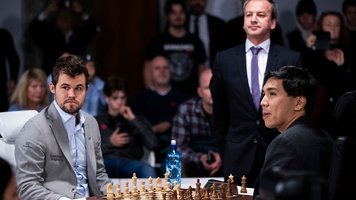 Carlsen and So