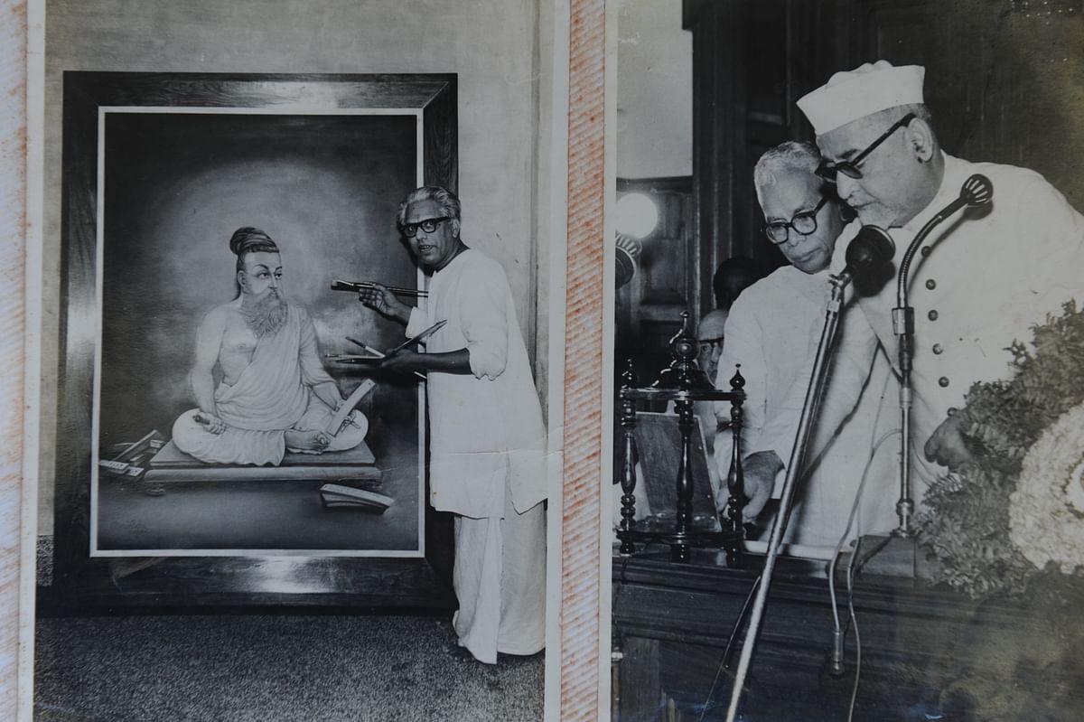 துணை ஜனாதிபதி ஜாகீர் உசேன்.