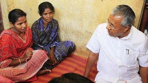 மது குடும்பத்துடன் பினராயி விஜயன்