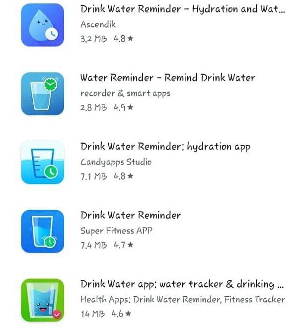 """Drink Water Remainder"" App"