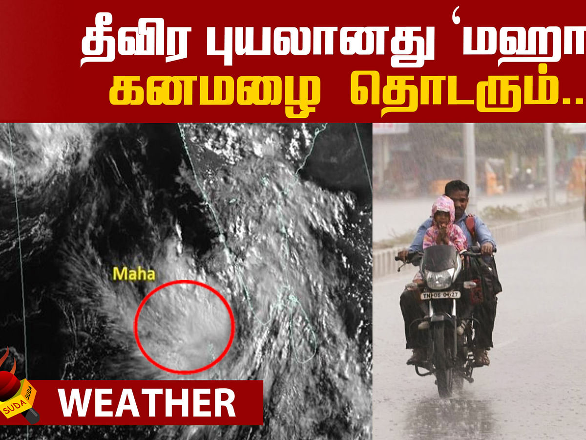 Weather Report - Maha Cyclone!