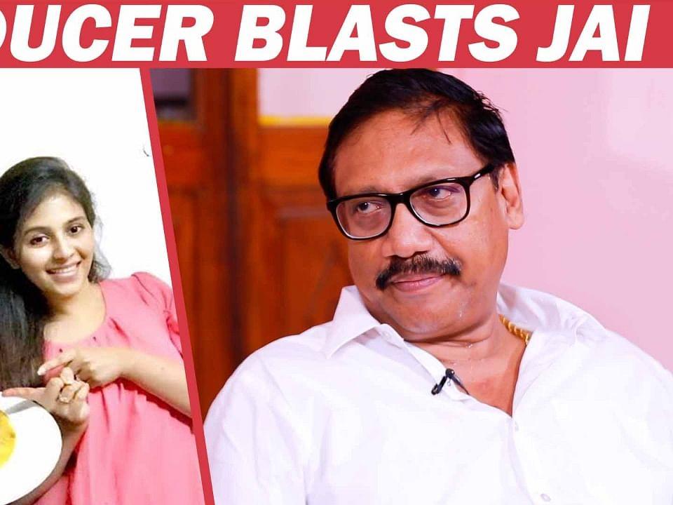 ``அஞ்சலி நல்லவங்கதான் ஆனா ஜெய்..!'' - பலூன் தயாரிப்பாளர் போஸ்டர் நந்து