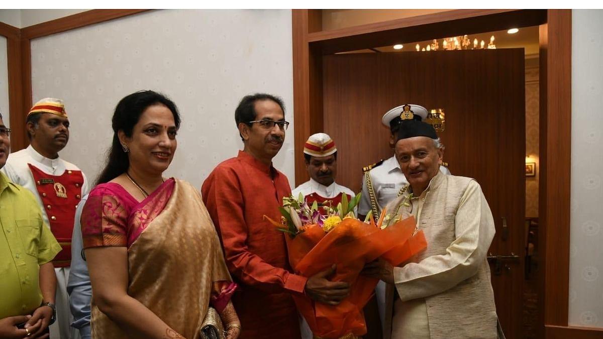 ராஷ்மி தாக்கரே மற்றும் உத்தவ் தாக்கரே