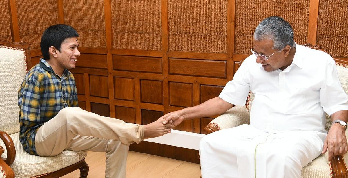 Pranav Meets Pinarayi Vijayan