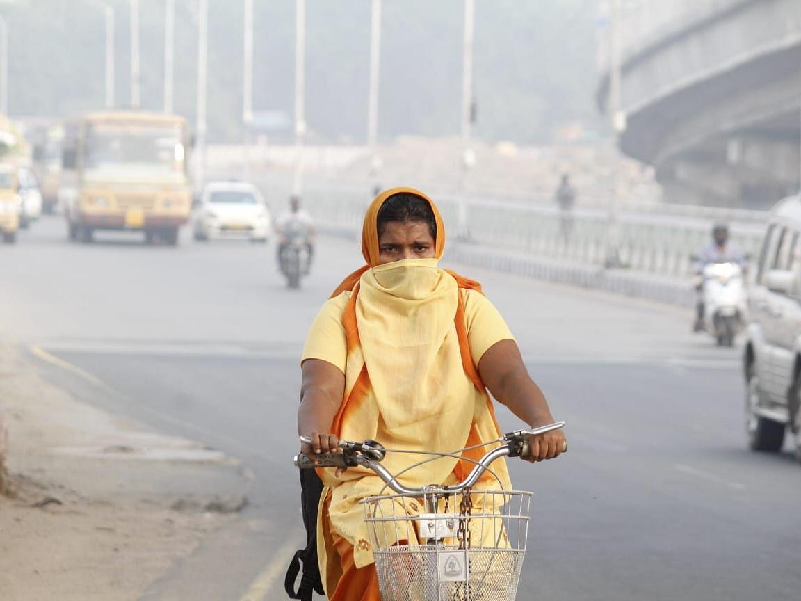 டெல்லியைப் போலவே சென்னையிலும் கடும் புகைமூட்டம்... காரணம் என்ன? #DoubtOfCommonMan