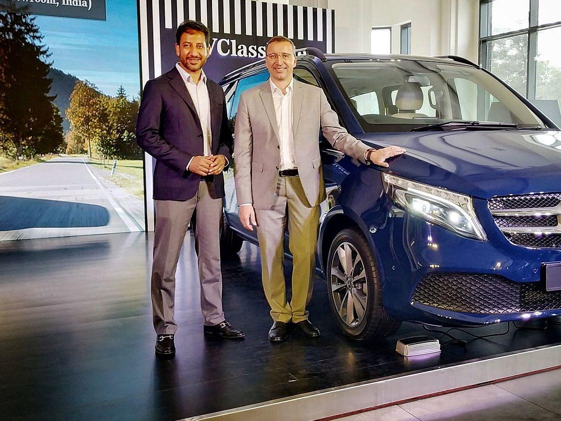 இந்த காரைப்போலவே இதன் சிறப்பம்சங்களும் மிக நீளம்!- இந்தியாவில் களமிறங்கியது Benz  V-Class Elite
