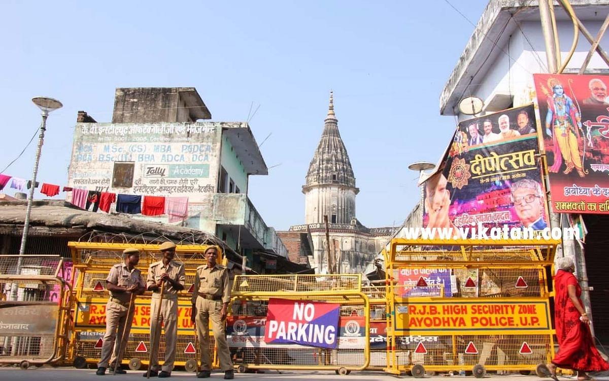 `அயோத்தி ராமர் கோயில்!' -  நன்கொடை அளிக்கும் ஷியா மத்திய வக்ஃப் வாரியத் தலைவர்