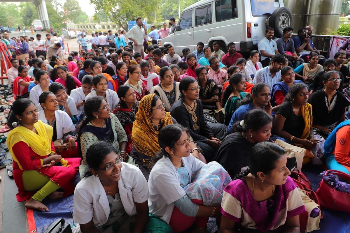 Government doctors strike