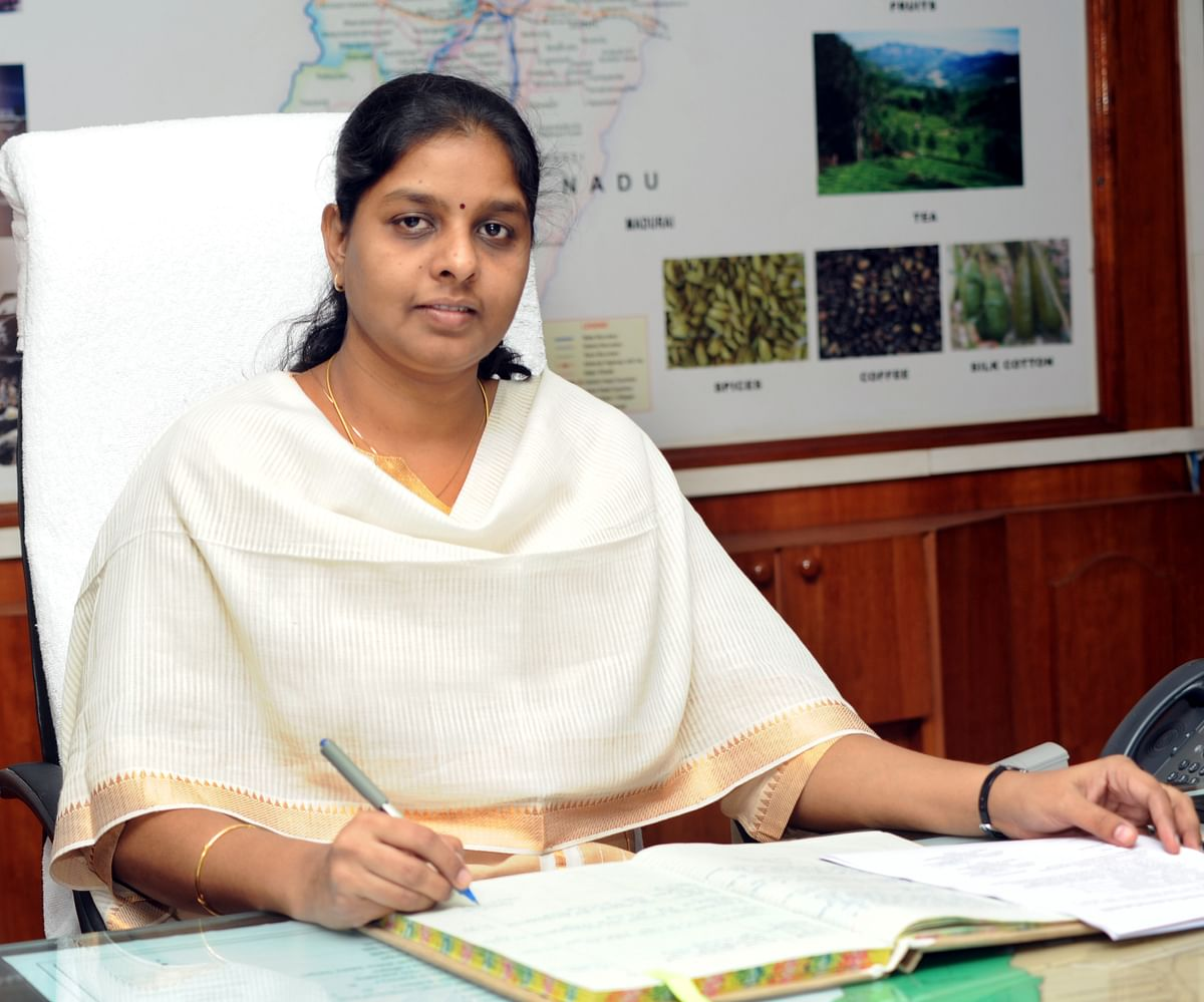 Theni Collector Pallavi Baldev