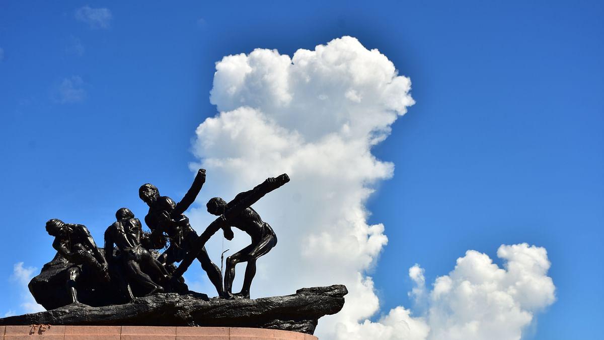 Chennai Marina Labour Statue