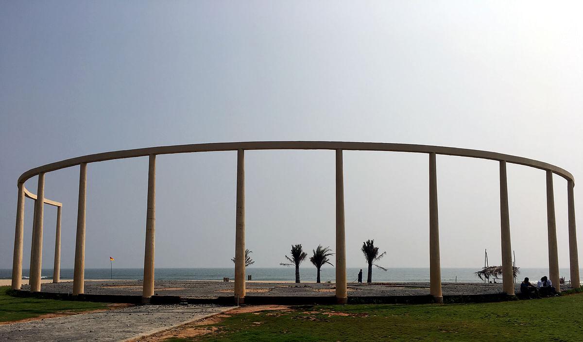 புதுச்சேரி சின்ன வீராம்பட்டிணம் சுர்றுலாப் பகுதி