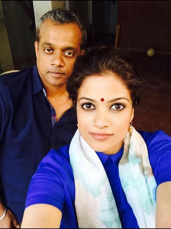 Gautham and Uthara Menon