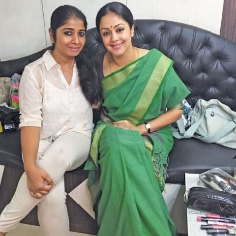 Jyothika and Poornima Ramasamy