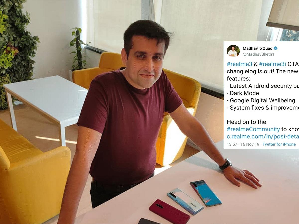 ரியல்மீக்கு ஐபோனிலிருந்து விளம்பரம் செய்து மாட்டிக்கொண்ட இந்திய CEO!