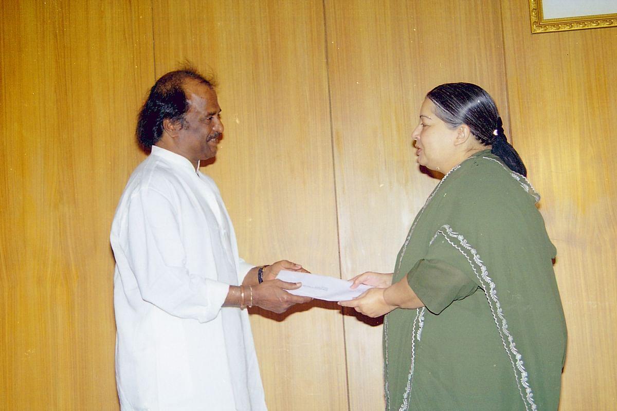 ரஜினியும் ஜெயலலிதாவும்