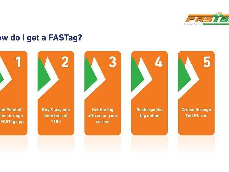 டிசம்பர் 1 முதல் சுங்கச்சாவடியில் ஃபாஸ்டேக் அமல்! பெறுவதும் பயன்படுத்துவதும் எப்படி?#Fastag