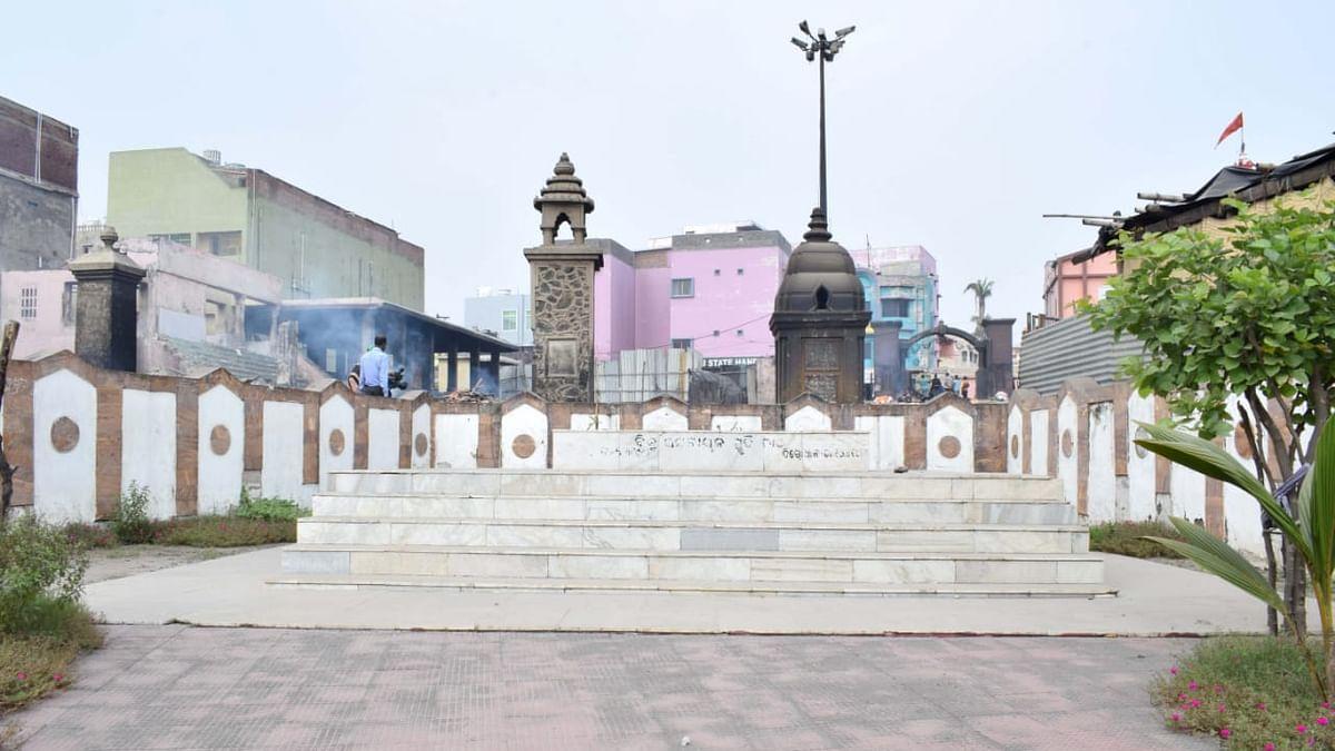 பிஜு பட்நாயக் சமாதி