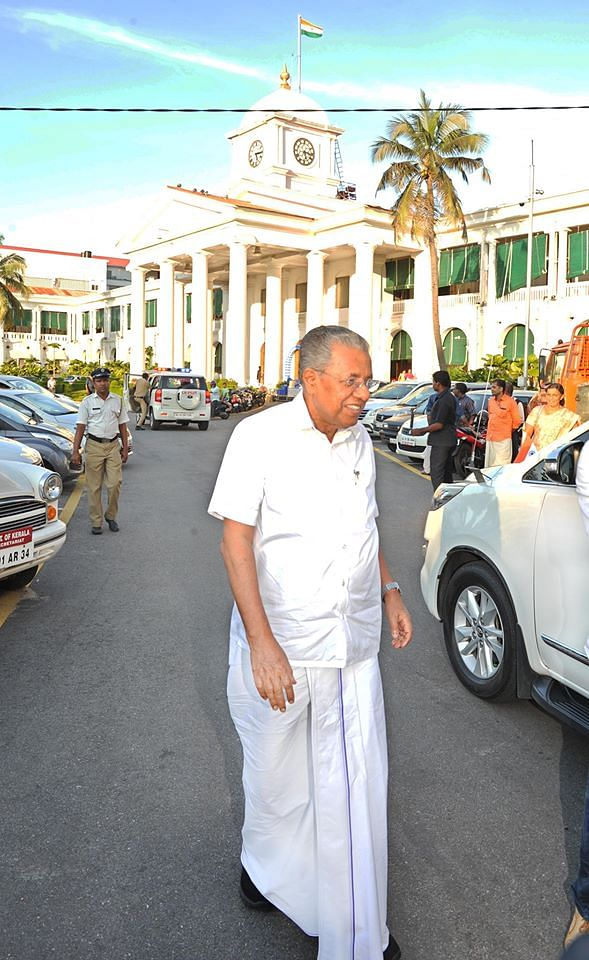 கேரள முதல்வர் பினராயி விஜயன்