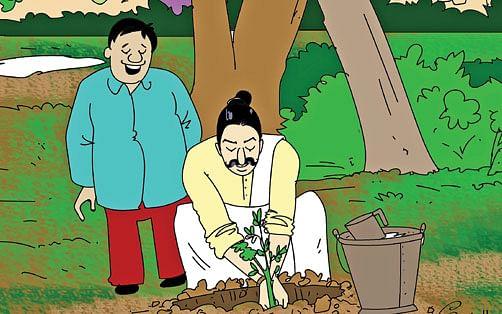 மண்புழு மன்னாரு : மரம் வளர்ப்புக் கலையும் 10 நாள் மழைப் பொழிவும்!