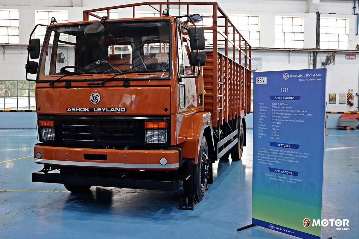 அசோக் லேலாண்டு BS-6