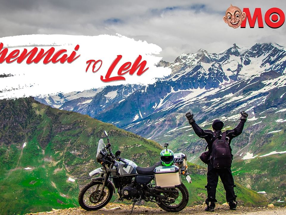 Scenic Journey from Chennai To Leh | Part 1 VLOG | Motor Vikatan