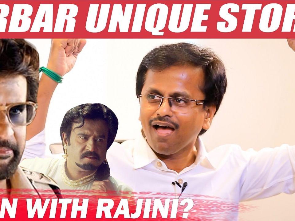 """I told Chandramukhi Part 2 Story to Rajini"" - AR Murugadoss | Darbar"