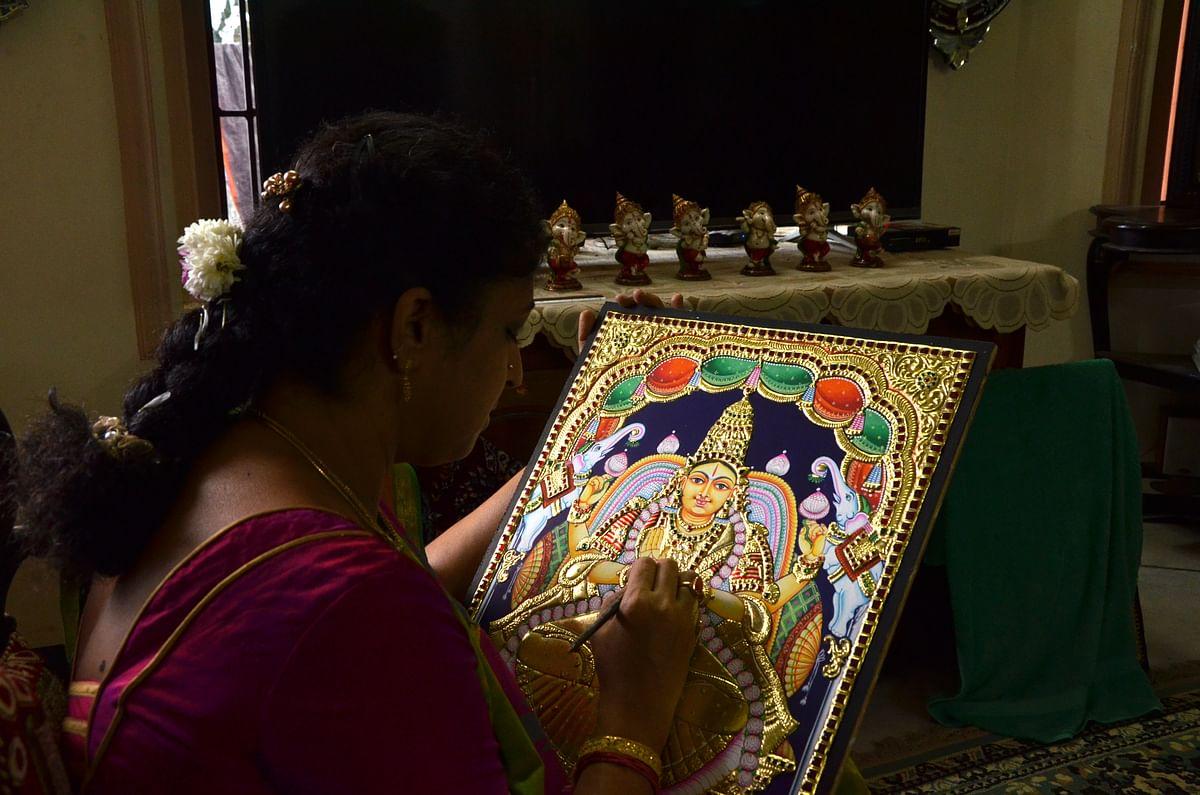 ஓவியத்திற்கு பைனல் டச் அப்