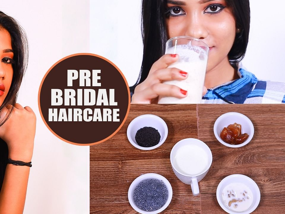 Magical Drink to get Smooth Hair Before Wedding | Hair Care | Bridal Series - 2