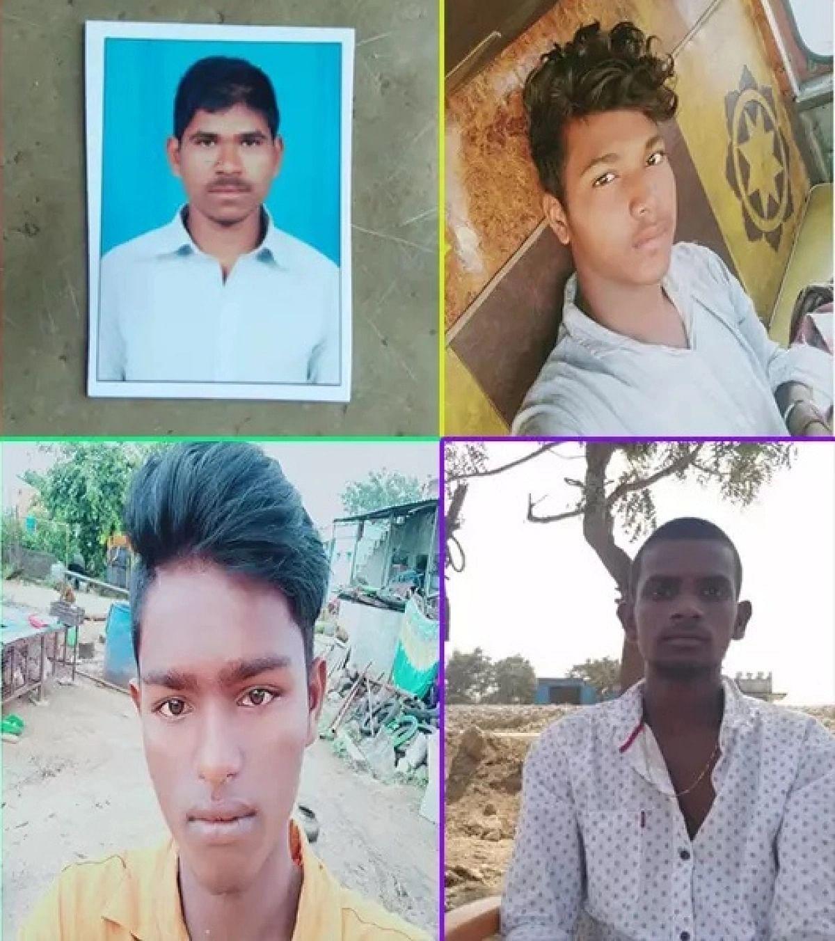 முகமது பாஷா என்ற ஆரீப், கேசவலு, சிவா, நவீன்