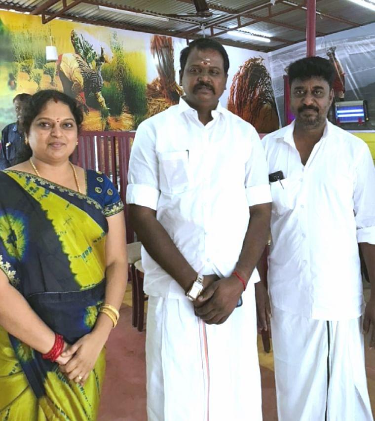 கருப்பு முருகானந்தம் உடன் ஜீவஜோதி