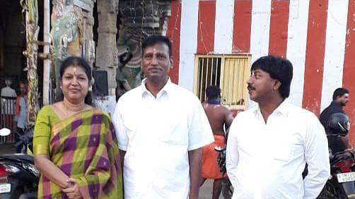 முன்னாள் டி.ஜி.பி ராஜேந்திரன்